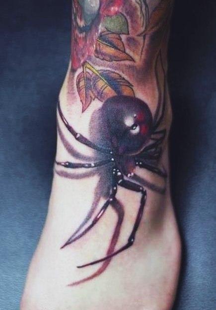 фото татуировки паука (3)
