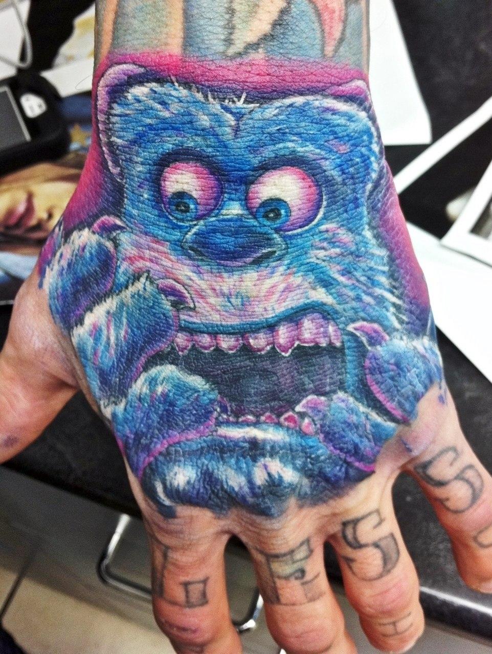 фото татуировки мультфильмов (5)