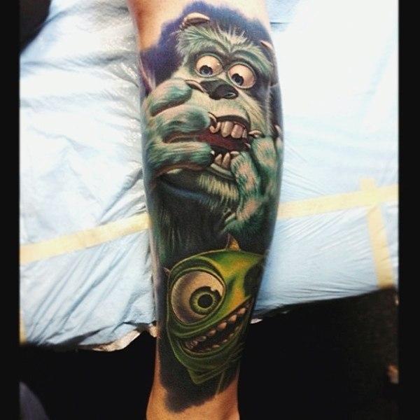 фото татуировки мультфильмов (4)