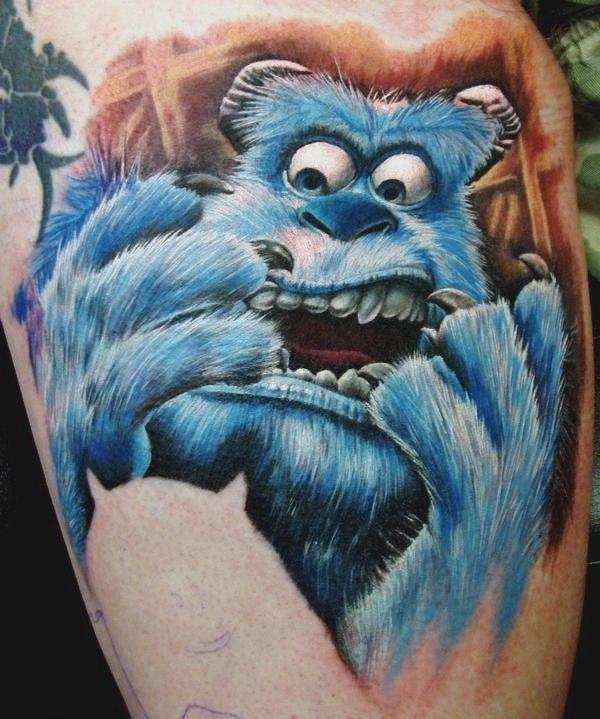 фото татуировки мультфильмов (3)