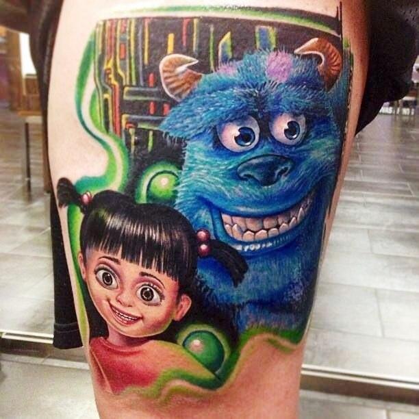 фото татуировки мультфильмов (2)