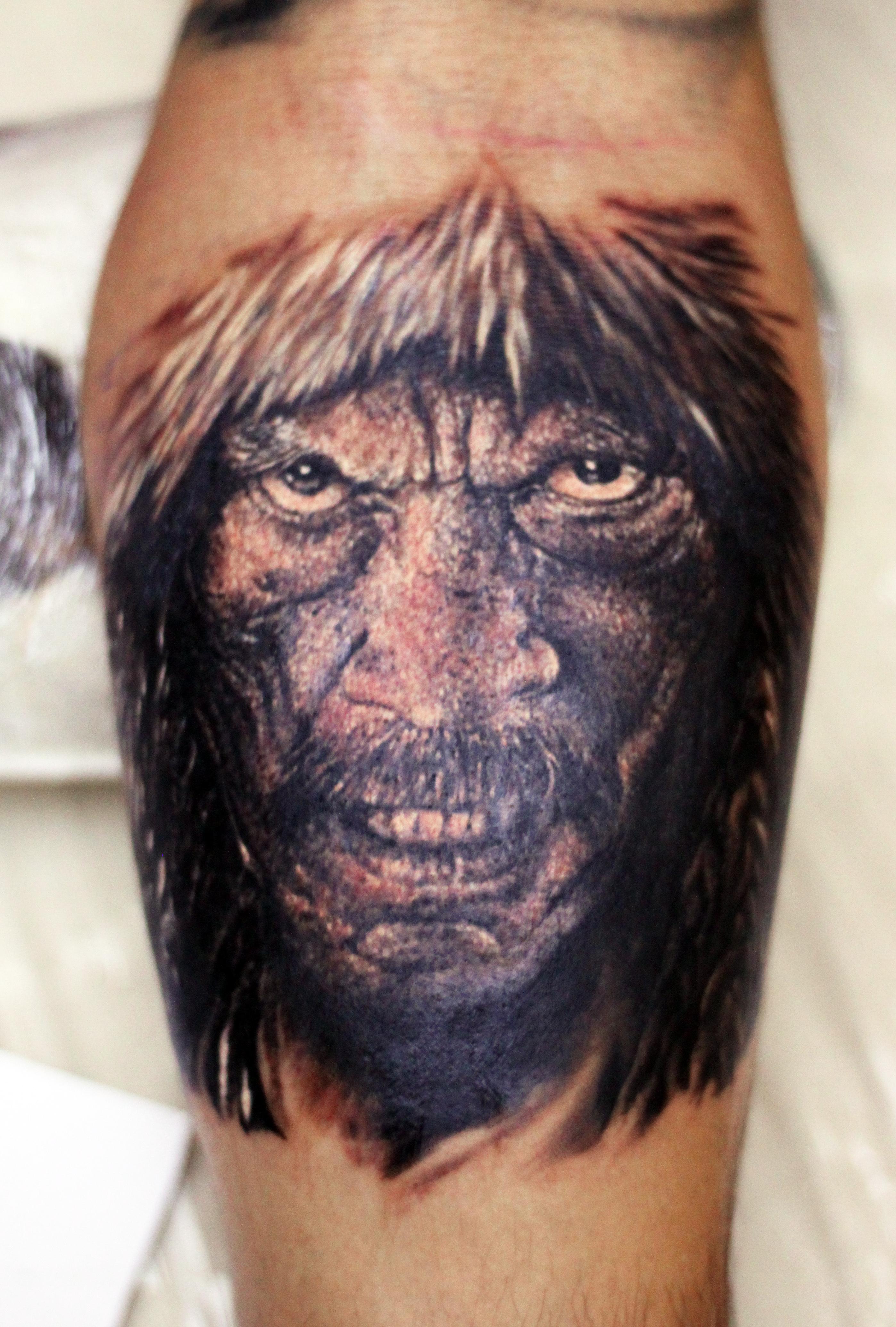 фото татуировки знаменитости Дэнни Трехо