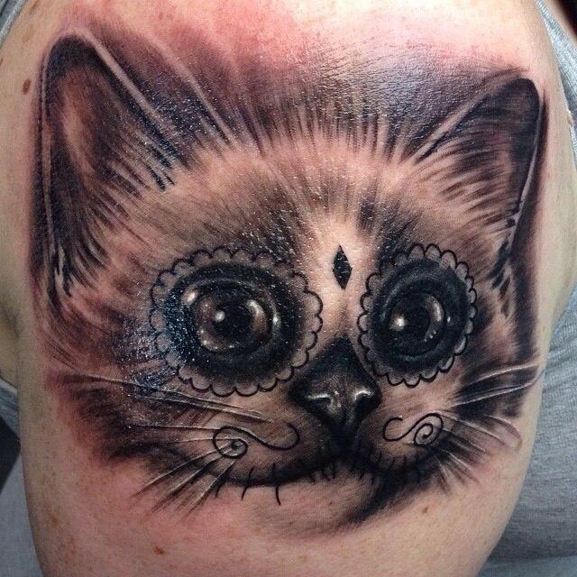 фото татуировка кота