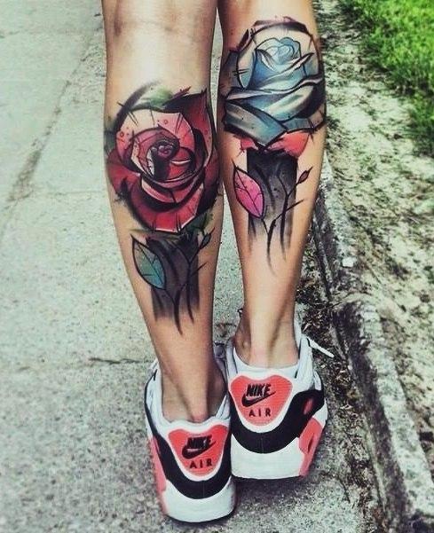 фото татуировки на ногах (1)