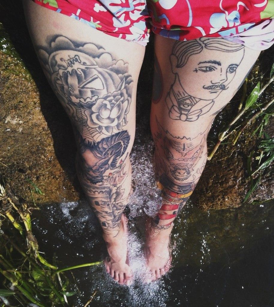 фото татуировки на ногах (3)