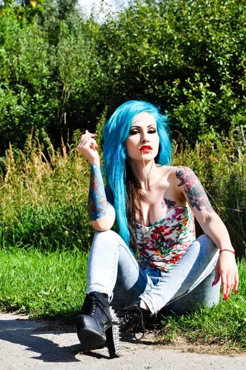 фото цветные женские татуировки (3)