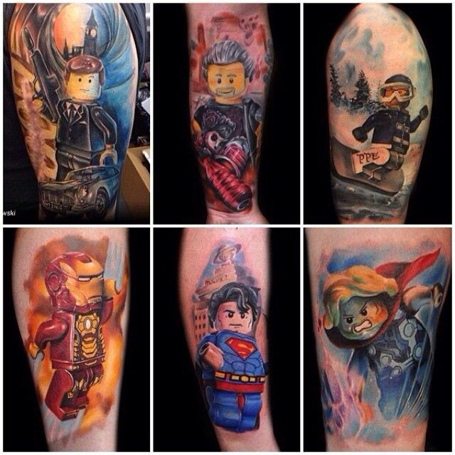 фото татуировки конструктор лего