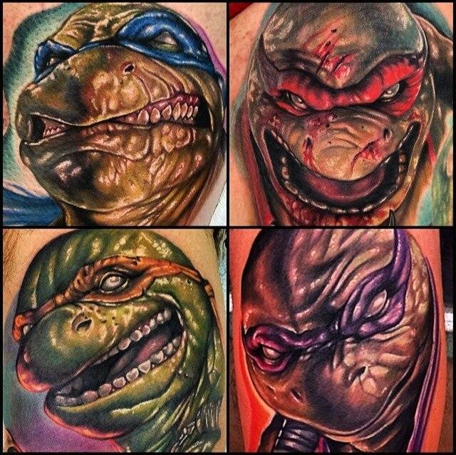 фото татуировки черепахи ниндзя
