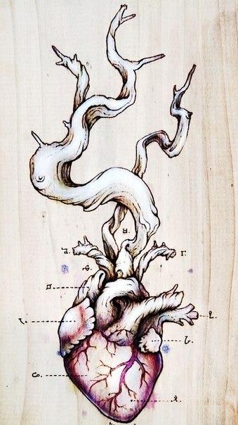 фото татуировки эскиз сердце (7)