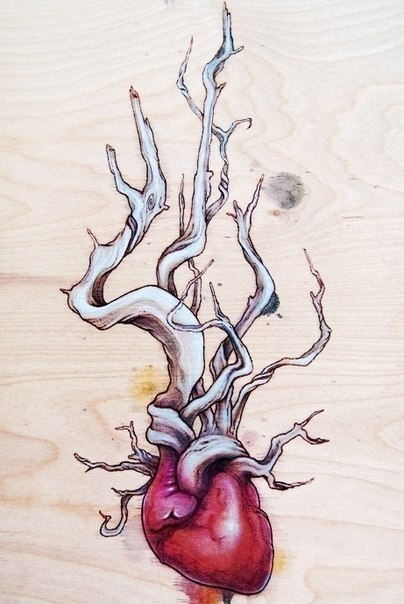 фото татуировки эскиз сердце (6)