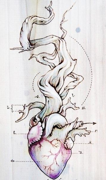 фото татуировки эскиз сердце (5)
