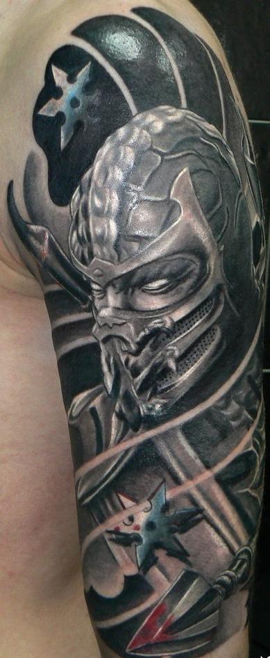 фото татуировки бойца ниндзя мортал комбат
