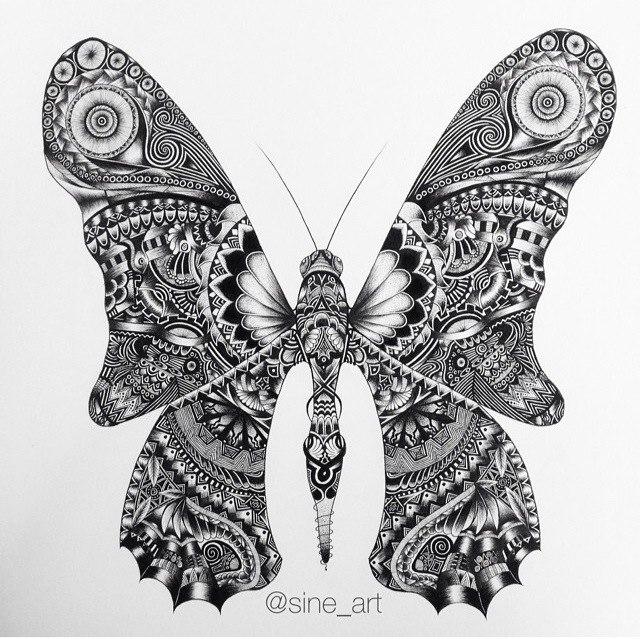 черно быле эскизы татуировки фото животные (8)