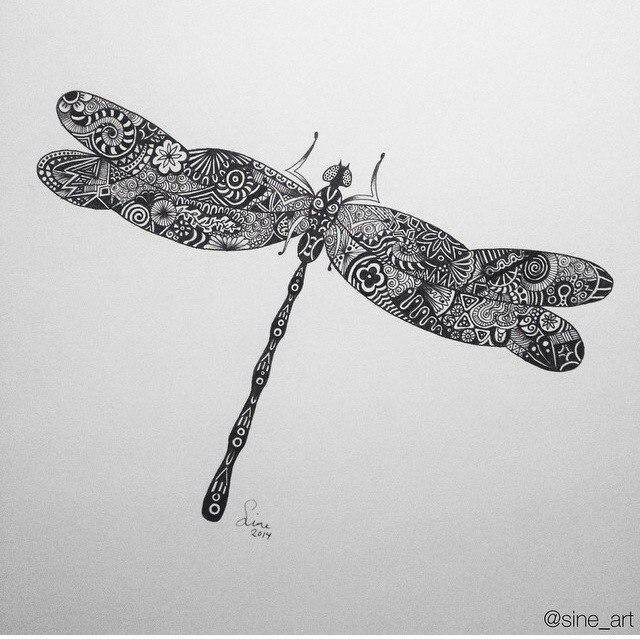 черно быле эскизы татуировки фото животные (4)