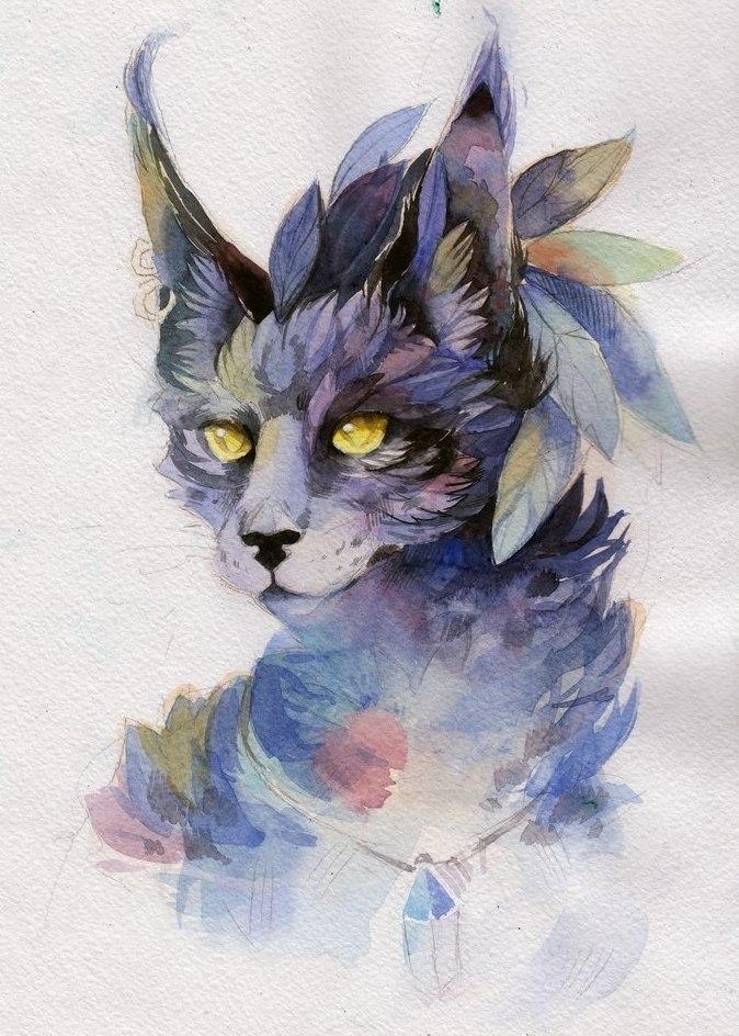 эскиз кот (3)