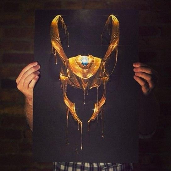 золотые эскизы тату (6)