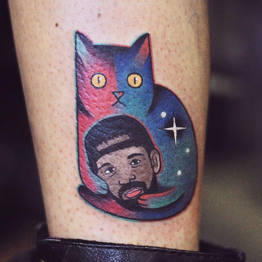 тату коты (4)