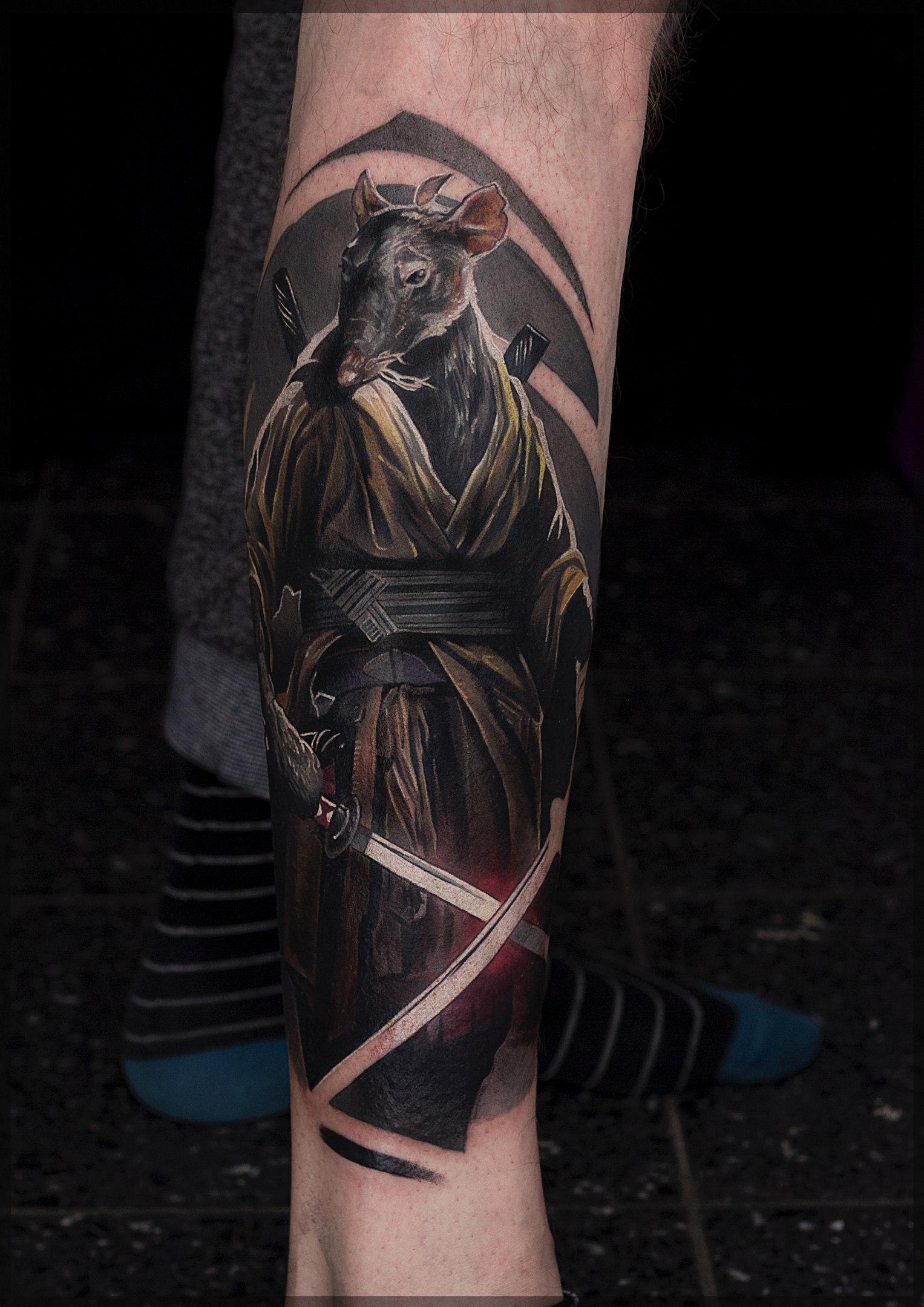 Татуировка Сплинтер