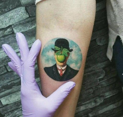 Потрясающее тату