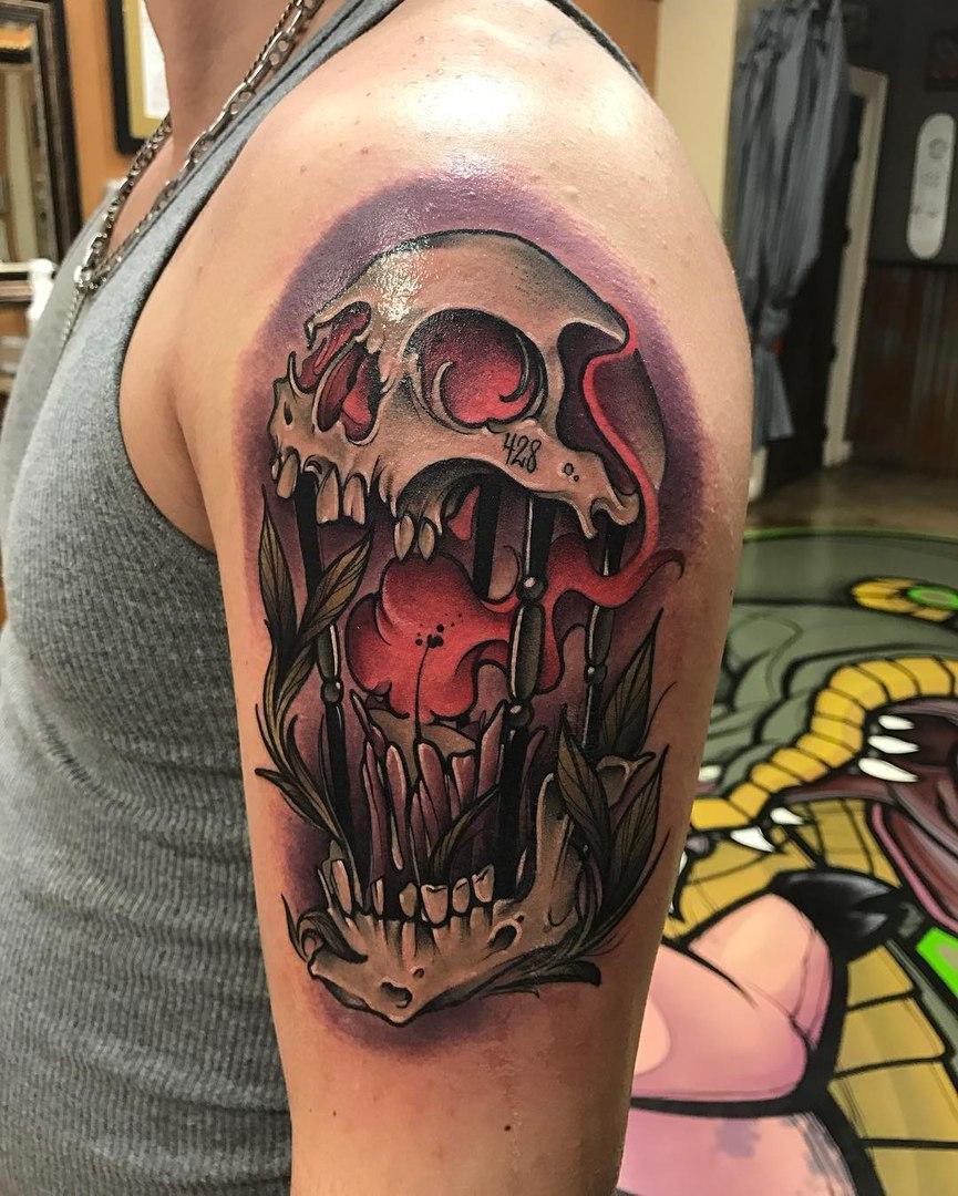 Татуировки свечи, фонари, факелы (1)